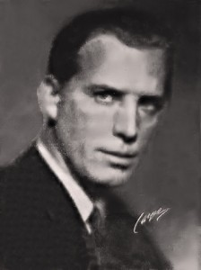 Lars Hanson, the extraordinary actor who played lead roles in several O'Neill plays at Dramaten. (Photo from Dramaten program for 'Lång dags färd mot natt', 1956)