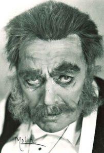 Anders de Wahl, guest performer from Dramaten, as Markurell (Markurells i Wadköping, Hjalmar Bergman)