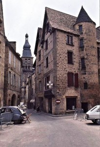 The enchanting medieval town of Sarlat, Dordogne (South-west)