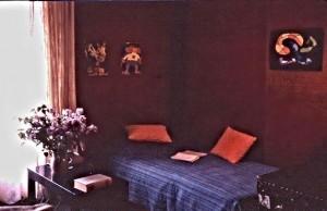 One corner of my nice littel studio on rue Jean de Beauvais, rigth next to Place Maubert