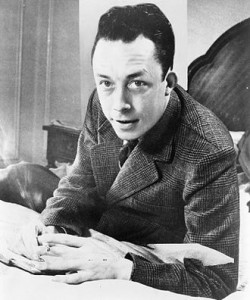 Albert Camus who was rewarded the Nobel Prize in literature in 1957