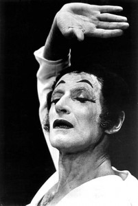 Marcel Marceau in 1971 (Photo Wikipedia)