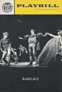 Playbill for Jean-Louis Barrault -- on the left -- at the New York City Center in 1970