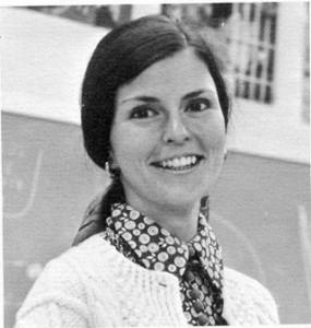 Regina Frey, the wonderful drama teacher