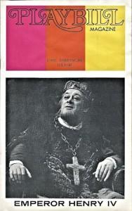 Eex Harrison as Emperor Henry IV by Pirandello