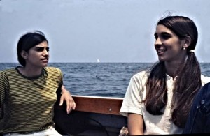 My young friends, Nora and Rita. We are on our way to New Rochelle marina
