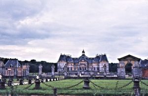 Le Château de Vaux-le-Vicomte, from the 17th century, a good 60 kilometers south-east of Paris